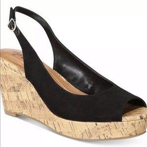 Style & co wedges black size 8.5